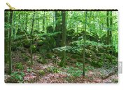 Green Stony Forest In Vogelsberg Carry-all Pouch