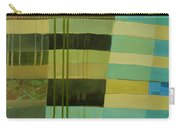 Green Stripes 1 Carry-all Pouch