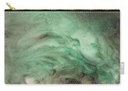 Green Texture Carry-all Pouch