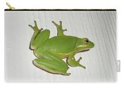 Green Tree Frog - Hyla Cinerea Carry-all Pouch
