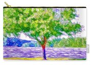 Green Trees By The Water  5 Carry-all Pouch