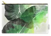 Green Tropical Carry-all Pouch