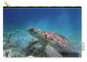 Green Turtle Carry-all Pouch
