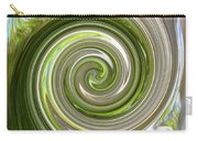 Green Twirl Carry-all Pouch
