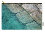Green Water Blocks Carry-all Pouch