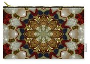 Green White Red Blue Kaleidoscope 1 Carry-all Pouch