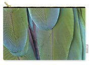 Green-winged Macaw #4 Carry-all Pouch