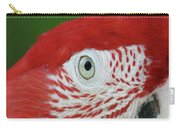 Green-winged Macaw Close Up Carry-all Pouch