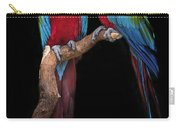 Green Winged Macaw Portrait Carry-all Pouch