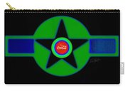 Green With Blue Carry-all Pouch