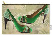 Green With Envy Pumps Carry-all Pouch
