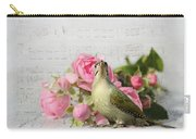 Green Woodpecker Stilllife Carry-all Pouch