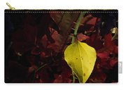 Greenbriar Leaf In Evening Sun Carry-all Pouch