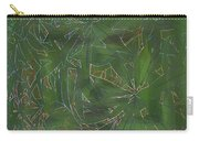Greenery In Green Carry-all Pouch