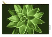 Greenery Succulent Echeveria Agavoides Flower Carry-all Pouch