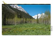 Greens And Blues Of The Maroon Bells Carry-all Pouch