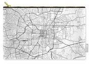 Greensboro North Carolina Usa Light Map Carry-all Pouch