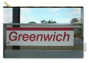 Greenwich Train Station Carry-all Pouch