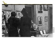 Greenwich Village, C1950 Carry-all Pouch