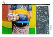 Greeter At Pizzeria In La Boca Area Of Buenos Aires-argentina- Carry-all Pouch