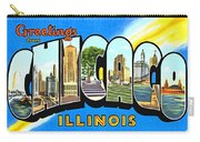 Greetings From Chicago Illinois Carry-all Pouch