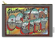 Greetings From Ocean City Carry-all Pouch