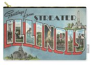 Greetings From Streater Illinois Carry-all Pouch