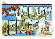 Greetings From Valley Forge Pennsylvania Carry-all Pouch