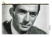 Gregory Peck Hollywood Actor Carry-all Pouch