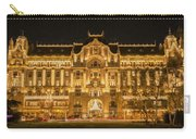 Gresham Palace Holiday Lights Painterly Carry-all Pouch
