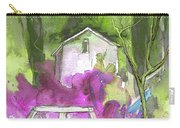 Greve In Chianti In Italy 02 Carry-all Pouch by Miki De Goodaboom