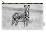 Grevy Zebra  5953bw Carry-all Pouch