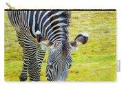 Grevys Zebra Left Carry-all Pouch