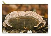 Grey Bracket Fungi Carry-all Pouch
