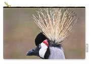 Grey Crowned Crain Of Africa 2 Carry-all Pouch