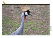 Grey Crowned Crain Of Africa 3 Carry-all Pouch