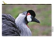 Grey Crowned Crain Of Africa 4 Carry-all Pouch