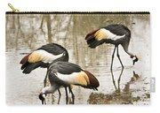 Grey Crowned Crain Of Africa 5 Carry-all Pouch