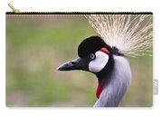 Grey Crowned Crain Of Africa Carry-all Pouch