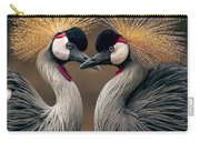 Grey Crowned Cranes Of Africa Carry-all Pouch