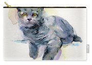 Grey Kitten Carry-all Pouch