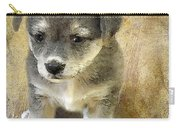 Grey Puppy Carry-all Pouch