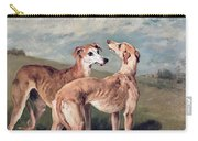 Greyhounds Carry-all Pouch by John Emms