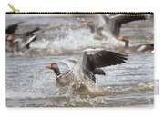 Greylag Goose Landing Carry-all Pouch