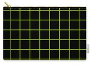 Grid Boxes In Black 09-p0171 Carry-all Pouch