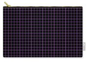 Grid Boxes In Black 30-p0171 Carry-all Pouch