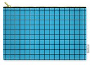 Grid In Black 18-p0171 Carry-all Pouch