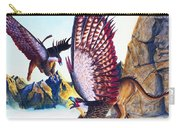 Griffins On Cliff Carry-all Pouch