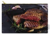 Grilled Beef Steak Carry-all Pouch