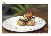Grilled Fish With Roast Potato Herbs And Garlic Carry-all Pouch